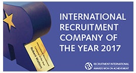 International Recruitment Company Of The Year 2017