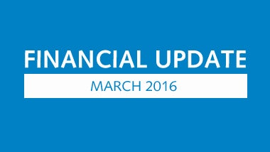 Financial update 2015