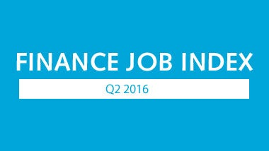 Finance Job Index Q2 2016