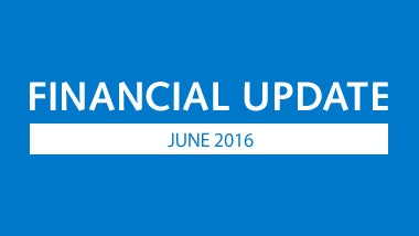 Financial update june 2016