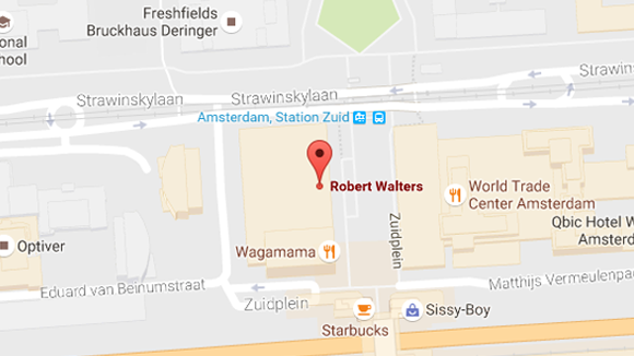 Robert Walters Amsterdam office location